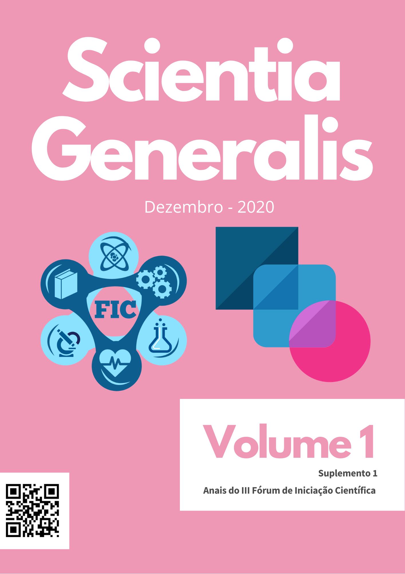 Visualizar v. 1 n. S1 (2020): Anais do III Fórum de Iniciação Científica - 2020